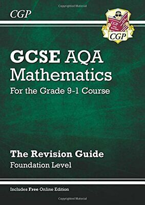 GCSE Maths AQA Revision Guide: Foundation - for the Grade 9-1 Co... by CGP Books