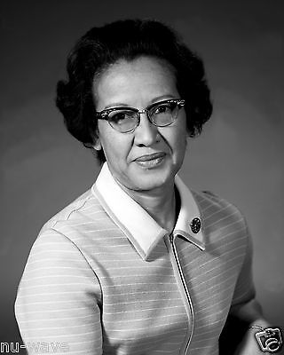Title: Katherine Johnson-NASA-African American Physicist-Space Program Scientist