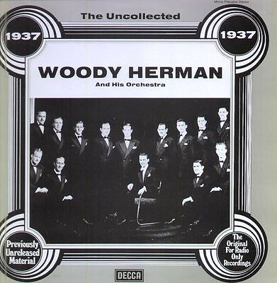 Woody Herman And His Orchestra 1937 NEAR MINT Decca Vinyl LP
