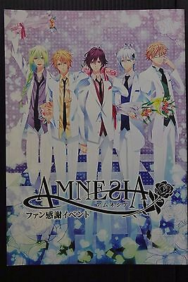 JAPAN Amnesia Fan Kansha Event Official Pamphlet