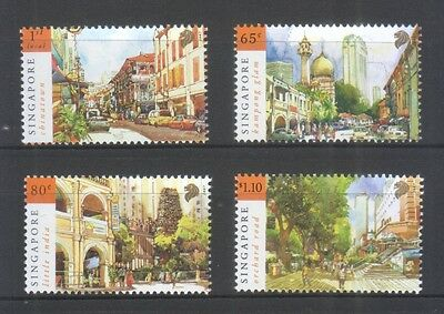 Singapore 2007 National Day Tourist Landmarks Comp. Set Of 4 Stamps In Mint Mnh