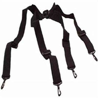 Paintball Pod Harness Fanny Pack Ball Hauler 4-point Web Suspenders Black