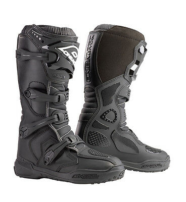 NEW 2018 O'neal Element MOTORCROSS Boots MX ATV Dirtbike Offroad MENS BLACK BMX