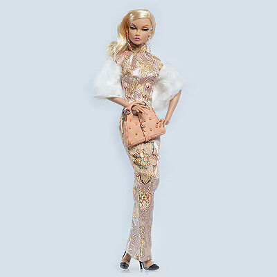 Sybarite tonner antoinette Fashion teen Poppy Parker Doll QiPao Dress Outfit