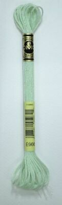DMC Light Effects Thread E966 Lime Embroidery Floss, 8m Skein