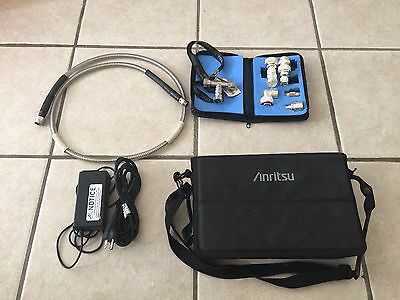 Anritsu S331D Site Master Cable Antenna Analyzer, Case and Accessories