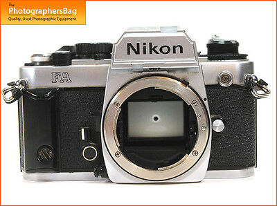 Nikon FA 35mm SLR Camera Body    + Free UK Post