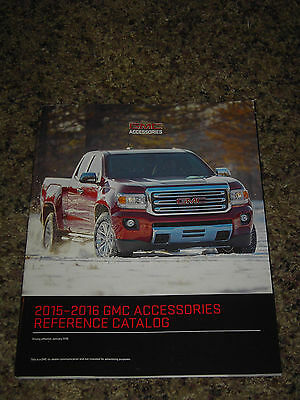 2015 2016 Gmc Accessories Reference Catalog Brochure Mint! 112 Pages