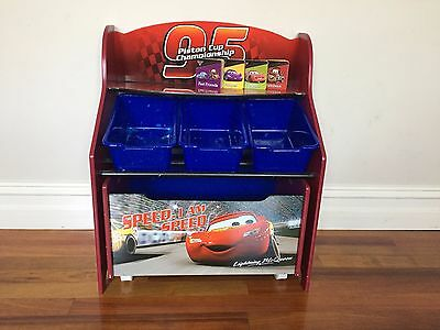 Cars - toy storage box - holds a lot! Great condition