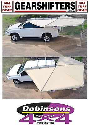 Dobinsons 4x4 Up In Seconds Sensu Awning Opens 270° Left Hand Mount Covers 10M²