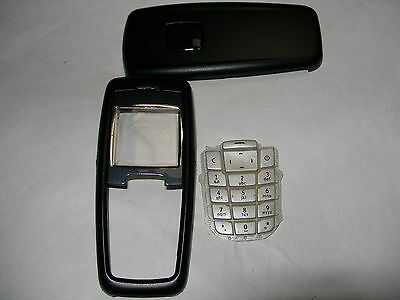 Black Replacement Housing / Fascia / Cover / Case for Nokia 2600 /keypad