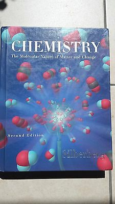 Chemistry: The Molecular Nature of Matter & Change by Silberberg (2nd edition)
