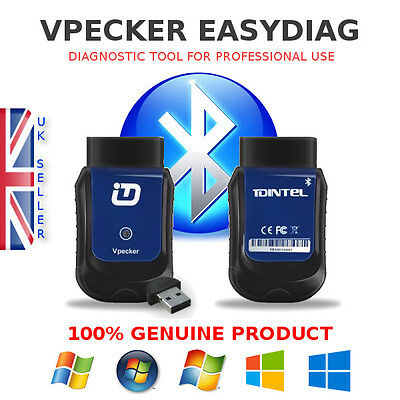 VPECKER Easydiag OBD2 Diagnostic tool as good as Bosch,Autocom,Delphi,Snap-on...