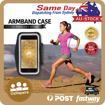 Armband - Sports Gym Running Arm band Case for iPhone 4 5 6 6S 7 Plus SE Samsung
