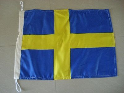 "SWEDEN Flag -14"" X 18"" - SWEDEN NATIONAL FLAG - FREE SHIPPING"