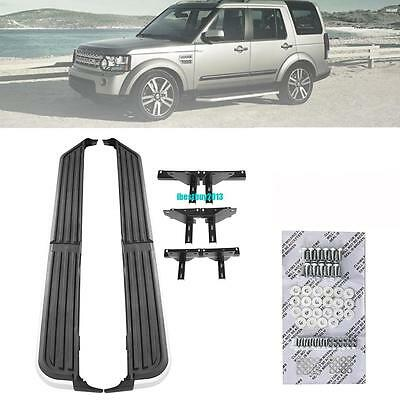 1 Set L&R Side Steps Running Boards For Land Rover Discovery 3 & 4 2005-2014