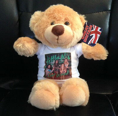 LITTLE MIX Get Weird 8 inch VERY CUDDLY TEDDY BEAR