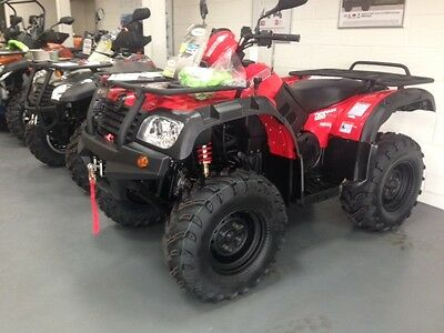 Quadzilla Terrain 500 Quad Bike Road Legal