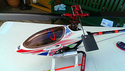 THUNDER TIGER RAPTOR 50 3D Beautiful Example Ready to Go