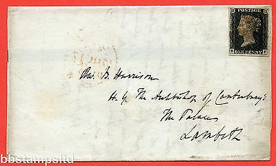 """SG. 2. A1 (2). AS5. """" SF """". 1d black. Plate 1b. A good used example."""