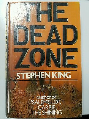 The Dead Zone by Stephen King UK 1st/1st Hardback *NO DJ*