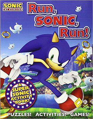 Sonic the Hedgehog Activity Book: A Sonic the Hedgehog Activity Book, New, Macmi
