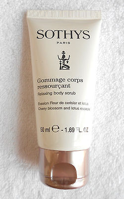 SOTHYS gommage corps ressourçant 50 ml env. 37 € Neuf