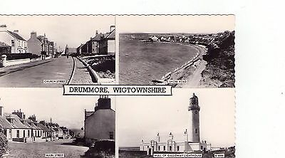 POSTCARD: Multiview Drummore, Wigtownshire