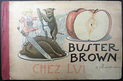 Buster Brown chez lui Outcault Ed. Hachette BE
