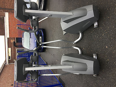 LIFE FITNESS 95si ISOTRACK CLIMBING, STAIR, STEPPER GYM MACHINE