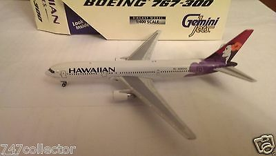 Gemini Jets Hawaiian Airlines B 767-33AER 1:400 GJHAL225 Kolean Colors N580HA