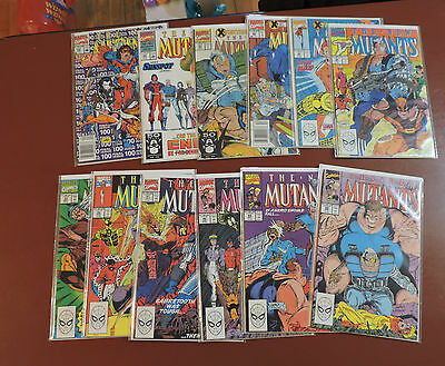 New Mutants #86 88 89 90 91 92 93 94 95 96 97 99 100 vf/nm Cable!  Liefeld!