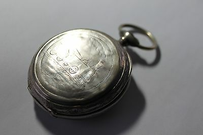 Pocket watch case and movement