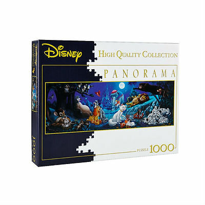 CLEMENTONI Puzzle panorama DISNEY Sweat Night 1000 pièces sous blister neuf