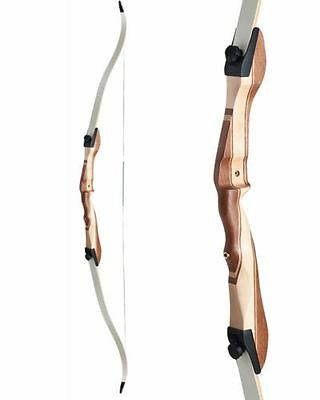 Archery Wood Take Down Recurve Bow  With Limbs  And String