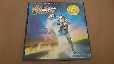 OST BACK TO THE FUTURE soundtrack vinyl LP 1985 Spain press bso