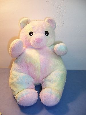 Ty Baby - Bearbaby - Plush Pastel Rattle Toy Lovie  Pillow Pals Collection - Vgc