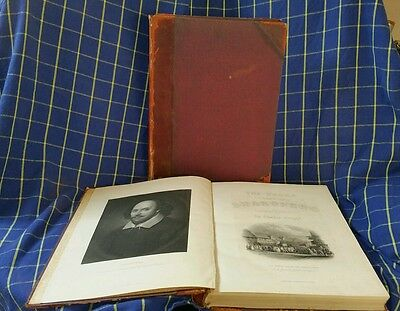 The Works of Shakspere Edited by Charles Knight - Illustrated on Steel Vol 1&2