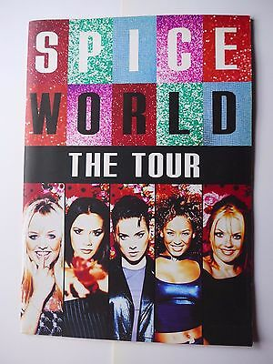Spice Girls World Tour 1998 Concert Programme