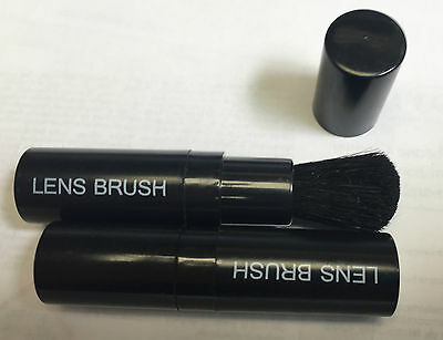 Lens Brush- Cleaning Brush-Set of 3- NOS-Camera lens, Binoculors lens