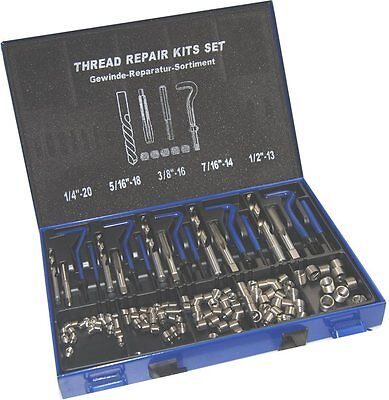 Master Thread Repair Kit  Unc 1/4 - 1/2 Can Be Used With Helicoil Inserts