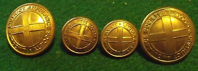 Lincoln And District Ambulance Society Buttons