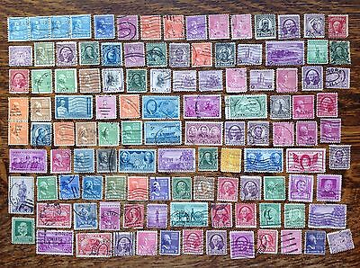 Collection Of Very Old United States Stamps USA Used