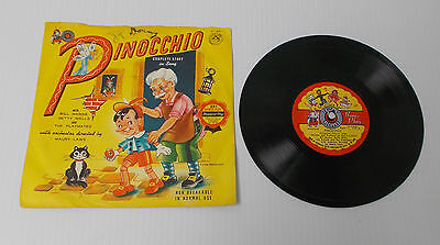 Cricket Records  PINOCCHIO  Complete Story in Song  C-47 The Playmates