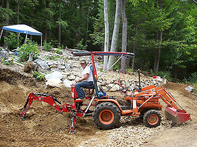 3pt Tractor Backhoe 5' Dig Sub-Compact Self Contained Cat.I 18-24 HP (VL-BHM5)