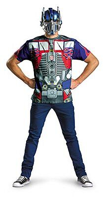 Transformers Dark of the Moon Optimus Prime T-Shirt and Mask Costume OS