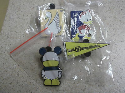 4 Disney Pin  Badge's All Different Lot 11