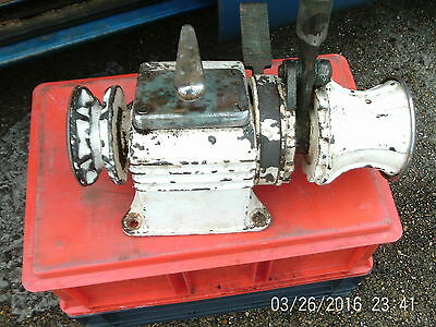 Boat Anchor Chain And Rope Winch