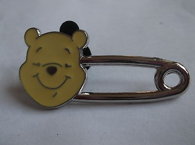 Disney's Winnie The Pooh Safety Pin Pin Badge