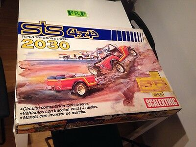 Scalextric STS 2030 4x4 Completo , Extra Raro ! ( Slot Coches )